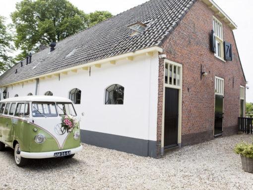 Bijzondere bruiloft in een boerenhoeve