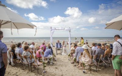 Beachwedding mit viel glück und spaß