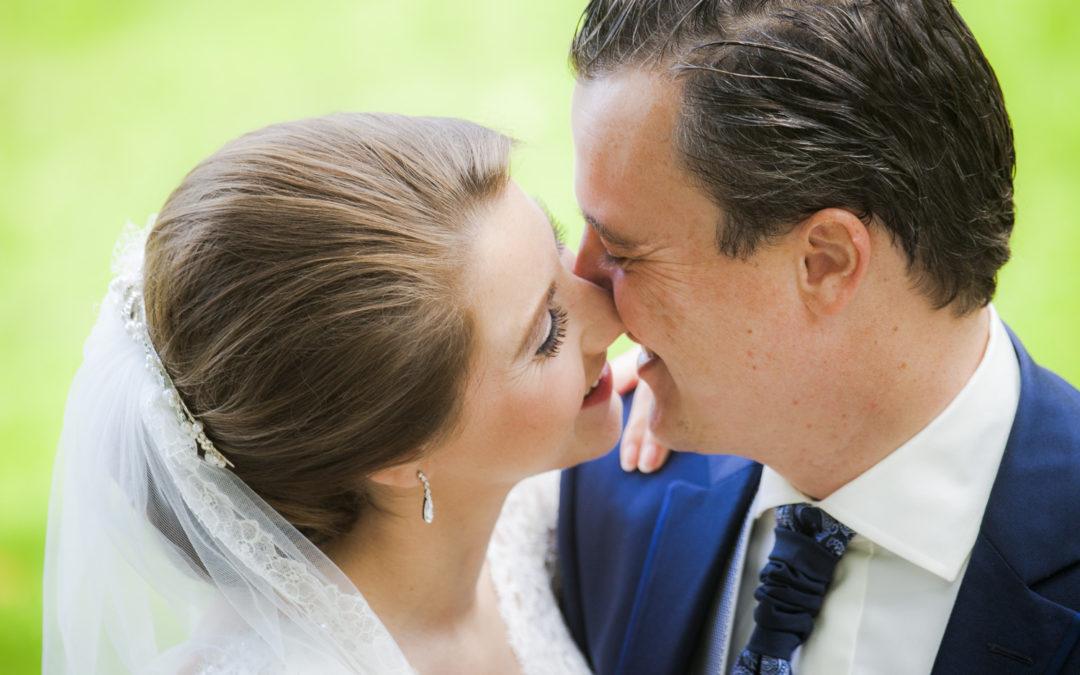 Bruiloft in romantische stijl