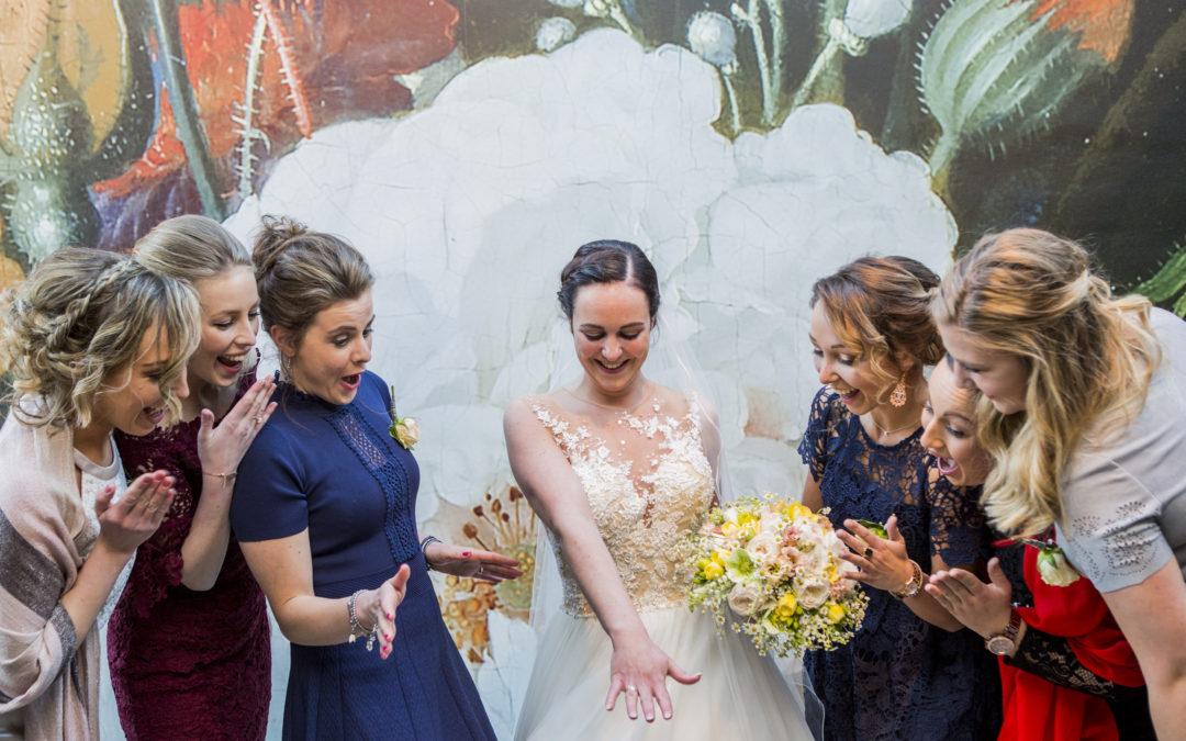 Bloemrijke bruiloft in de bollenstreek