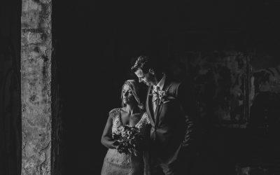 Classy wedding in een klooster
